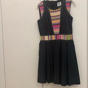 Neon milly dress